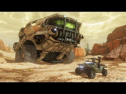 Halo 4 - Mammoth Tank - M510 Siegework/Ultra-Heavy Mobile Anti-Aircraft Weapons Platform