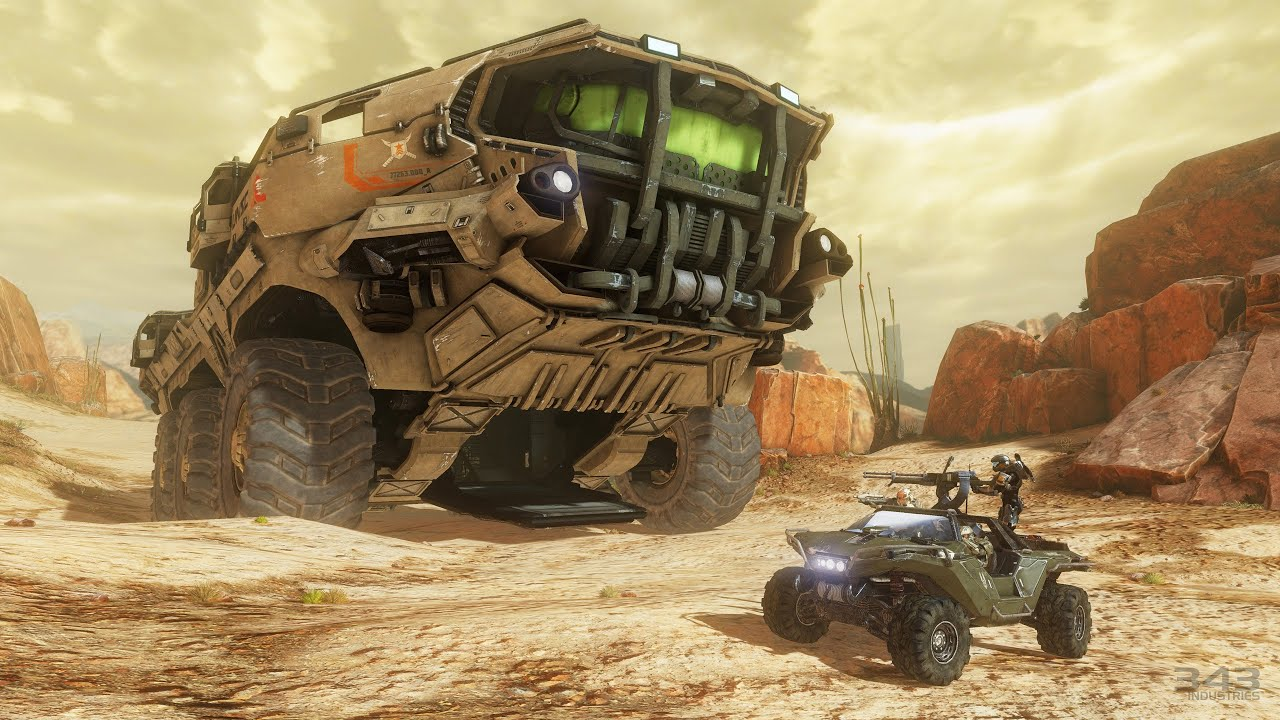 Halo 4 - Mammoth Tank - M510 Siegework/Ultra-Heavy Mobile ... K Michelle And Rasheeda 2013