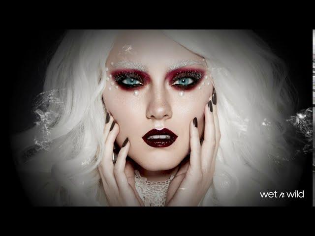 Glam Ghost Halloween costume tutorial ft. wet n wild makeup