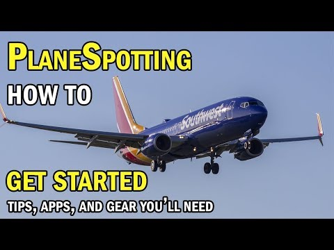 How to get started Plane Spotting