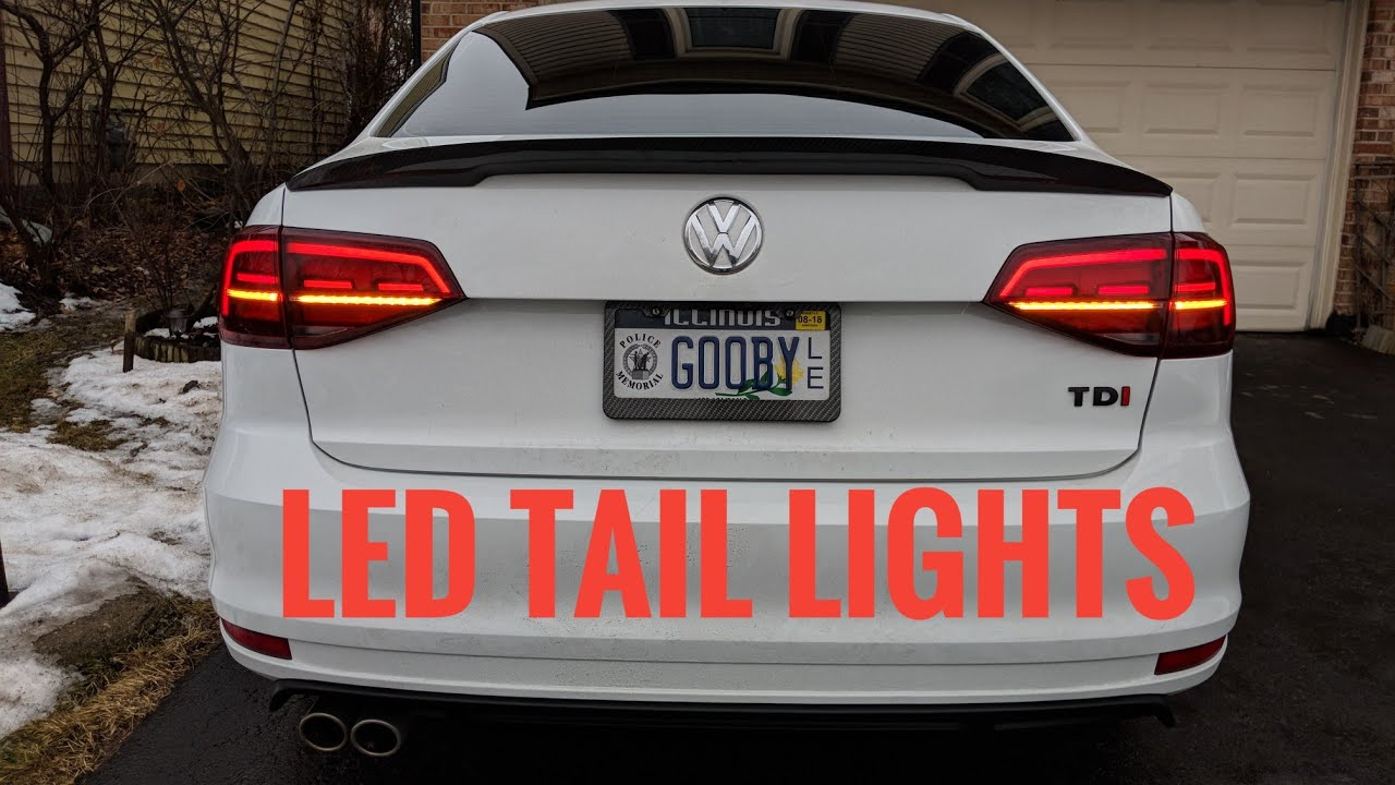2015 mk6 jetta led tail light install how to wiring guide [ 1280 x 720 Pixel ]