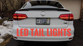 2015 + MK6 Jetta LED Tail Light Install - How To | Wiring Guide