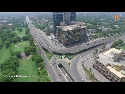 Construction of Jail Road signal free corridor,lahore Pakistan  by Habib Construction