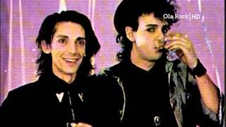 Federico Moura Virus Habla Sobre Gustavo Cerati y Soda Stereo   Entrevista Rock And Pop 1987 480p