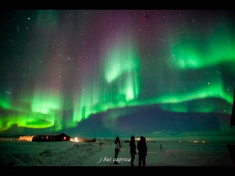 Aurora Borealis (Northern Lights) Time Lapse HD Iceland 2016 Home Design Ideas