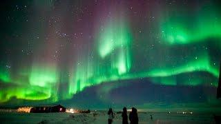 Aurora Borealis (northern Lights) Timelapse Hd Iceland