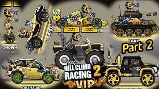 Hill Climb Racing 2 - 💎 All My New VIP Vehicles 💎 Part 2