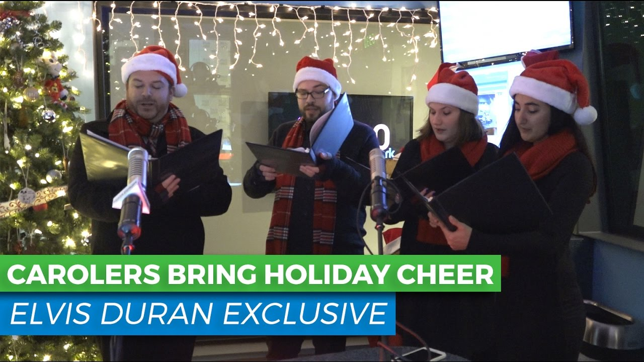 Elvis Duran S Annual Christmas Tree Lighting With Murphy S Music