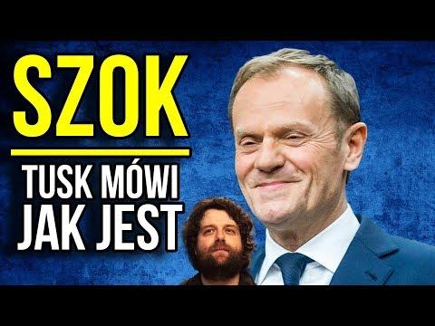SZOK: Donald Tusk pomaga Polsce po spotkaniu z Premierem Morawieckim w Unii Europejskiej [ UE ]