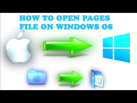 How To Open Mac .Pages File On Windows 10 | Simple & Easy {(Tutorial)}