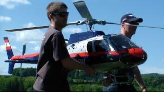 Gigantic R/C Turbine Scale Austria Police Eurocopter AS-350 B1 Ecureuil OE-BXK