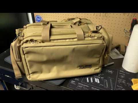 Midway USA Range Bag. The Perfect Range Bag