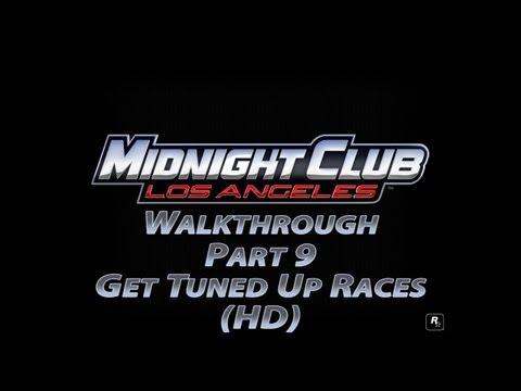 Midnight Club Los Angeles Walkthrough Part 9 Get Tuned Up Races