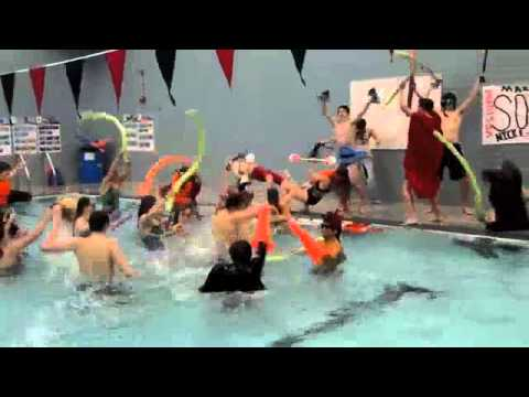 Harlem Shake Saucon Valley District Swim Team