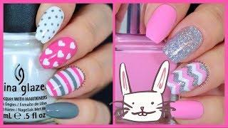 PINK NAIL | New Nail Art!