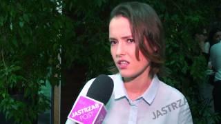 O czym nie chce z mediami rozmawiać Olga Frycz?