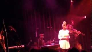 Laura Mvula @ Paradiso Amsterdam 11012013 'She'