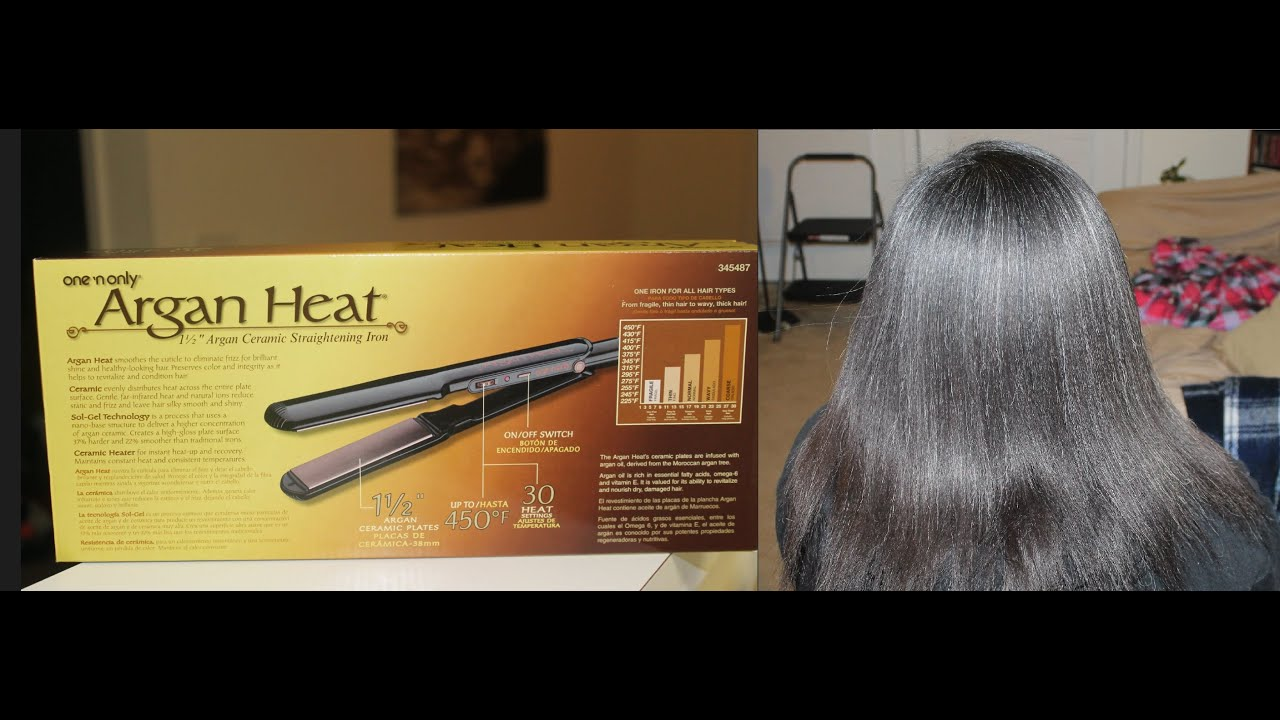 One N Only Argan Heat Flat Iron Product Review