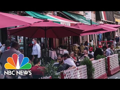 NYC Restaurants Not Allowed Indoor Dining As City Begins Phase 3 Of Reopening  NBC News NOW