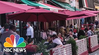 NYC Restaurants Not Allowed Indoor Dining As City Begins Phase 3 Of Reopening | NBC News NOW