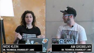 Live mit BIN & Nicki - das Erstellen der AWS Fargate-Service und Automatisierung der back-End-Bereitstellung