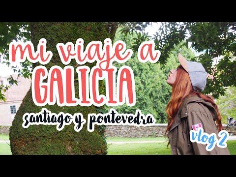 ¿Qué ver en Galicia? - Combarro, Pontevedra y Santiago / Travel with me (vlog 2) | Sandra Eme