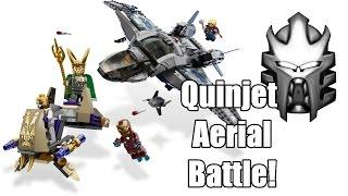 recenzja lego marvel 6869 quinjet aerial battle toa protodermis
