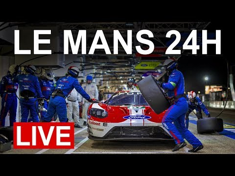 2019 Le Mans 24H LIVE - Ford GT Onboard Cams + Radio Le Mans Commentary