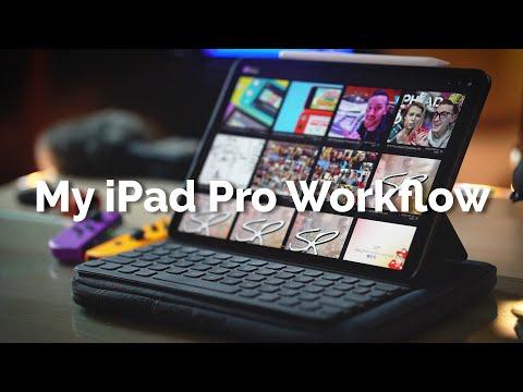 My 2020 iPad Pro 4K Video Editing Workflow with iPadOS 13! (Behind the Scenes) | Raymond Strazdas