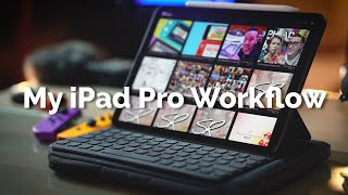 My 2020 iPad Pro 4K Video Editing Workflow with iPadOS 13! (Behind the Scenes) | Raymond Strazdas