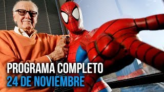 Cinescape 24 de noviembre (Programa completo)