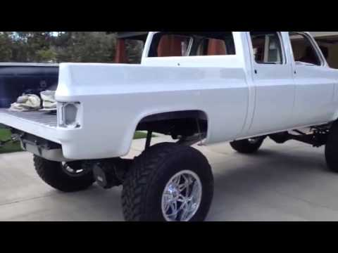1989 Chevy Crewcab short bed Duramax - YouTube