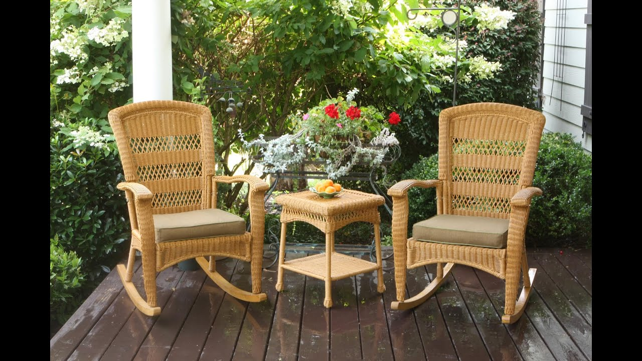 Portside Plantation Rocking Chair Set Tortuga Outdoor