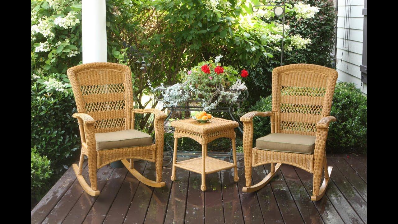 Portside Plantation Rocking Chair Set Tortuga Outdoor