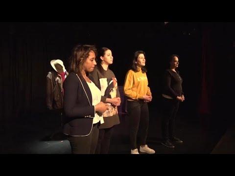 مسرحية فرنسية لتعرية العنف الممارس على النساء من أزواجهن