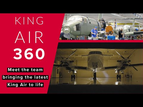 Behind-the-scenes: The team behind the new King Air 360