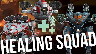 🔴  War Robots - Healing Squad (Tyr, Weyland, Mender) + Giveaway | Live Stream Gameplay