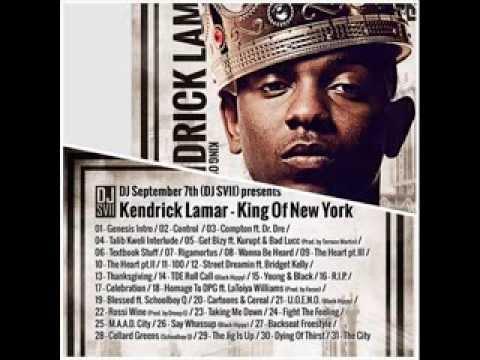 Kendrick lamar wanna be heard king of new york mixtape - Kendrick lamar swimming pools mp3 ...