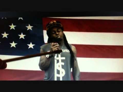 Lil Wayne God bless Amerika Illuminati Freemason Symbolism