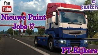 [MP] new Paint Jobs!? FT. viewers [ETS 2 and Fortnite] [Road To 600 subs] [EU2] [#43] [NL] [G29]
