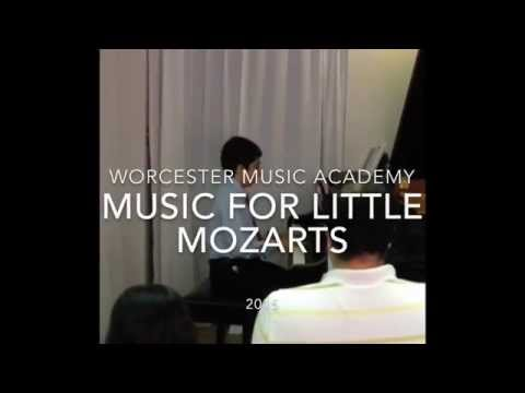 Music for Little Mozarts 2015 Recital