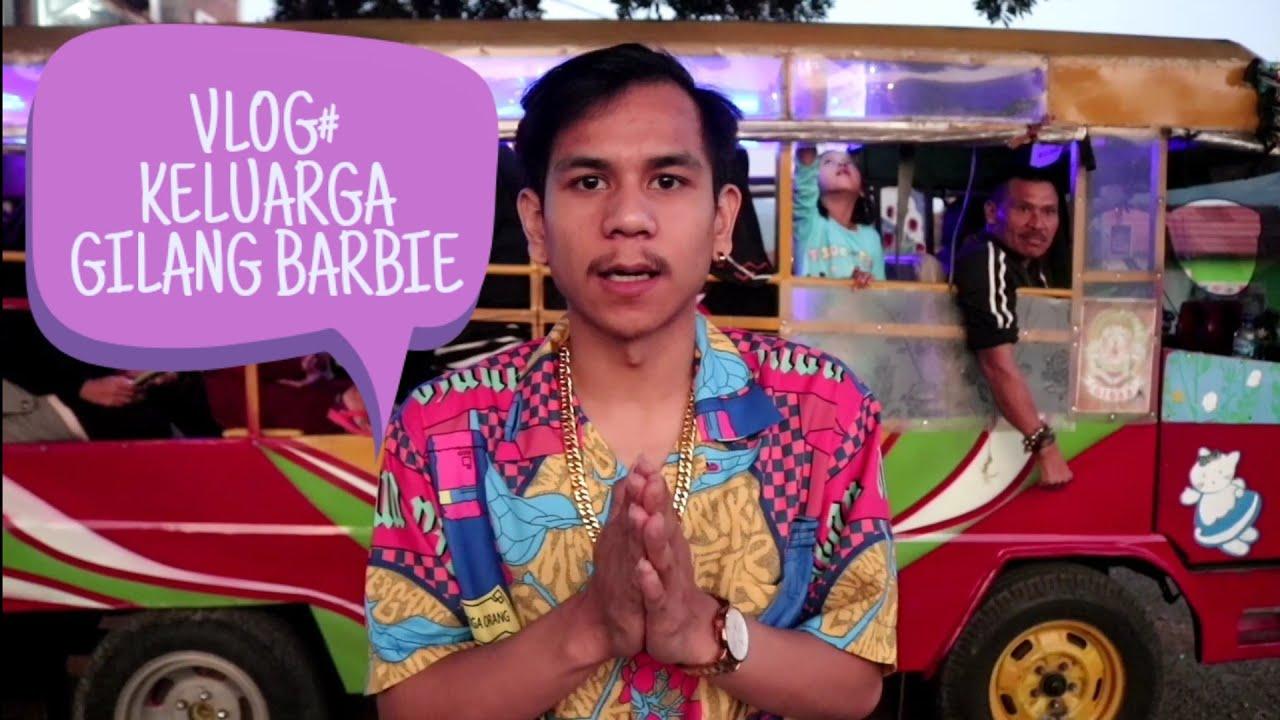 VLOG KELUARGA GILANG BARBIE || naek odong odong keliling indonesia