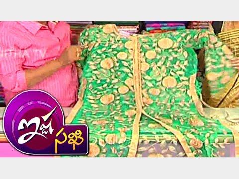 Latest Designer Half Saree & Party Wear Net - Dresses || Ishtasakhi || Vanitha TV