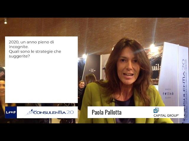 Consulentia 2020 - Paola Pallotta (Capital Group)