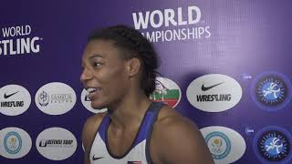 Jacarra WINCHESTER (USA): 55kg World Champion