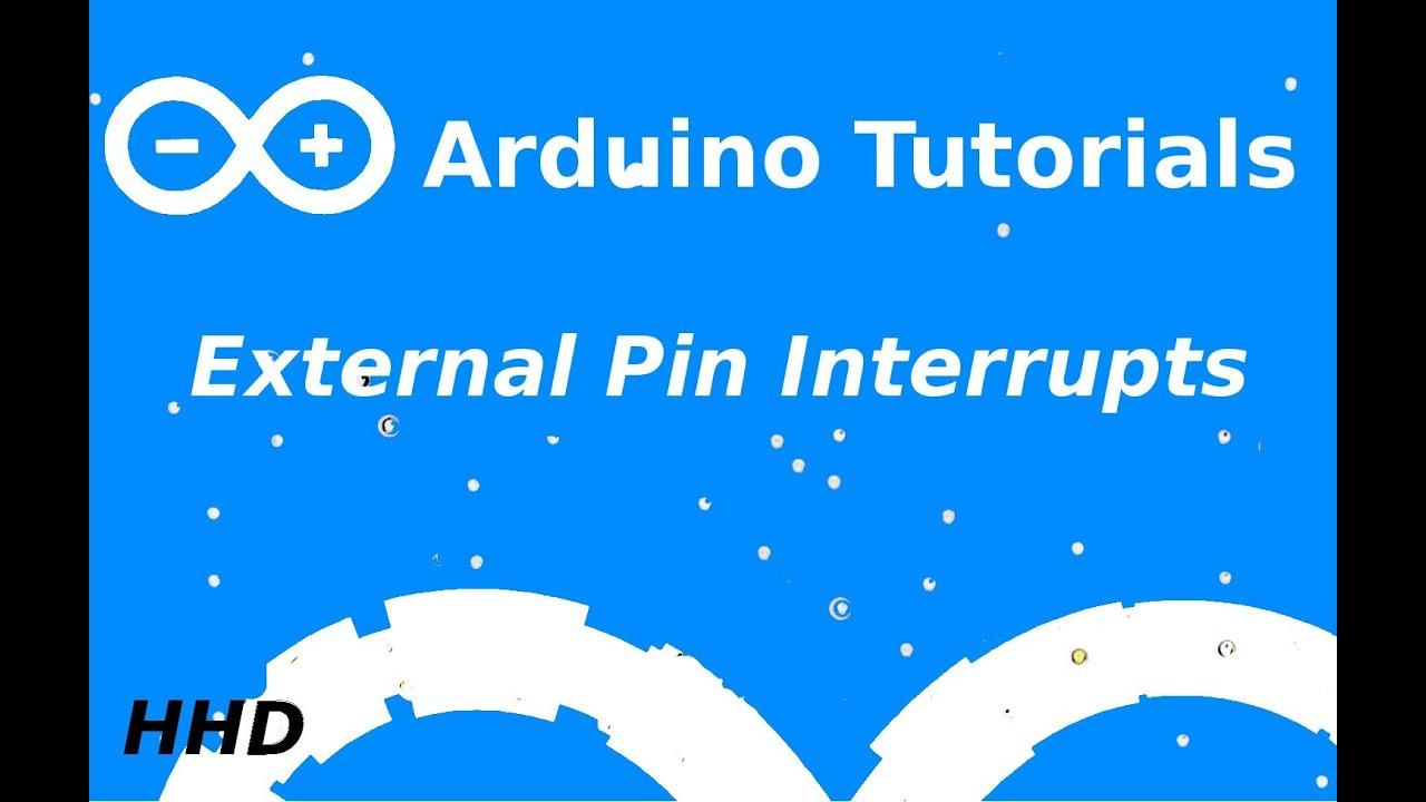 Arduino Tutorial #7: External Pin Interrupt - YouTube