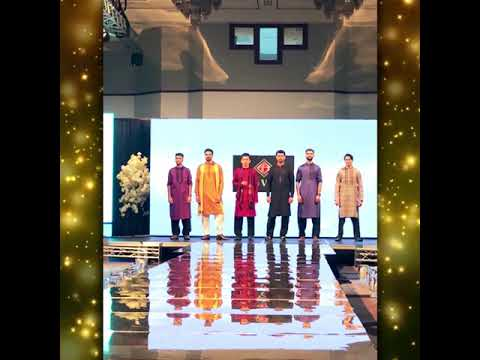 Riwaj Mens Wear win best gents kurta designs awards in Scotland Fashion Week 2019.