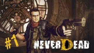 Lets Play NeverDead (Blind) 001 - Das Monster in der Psychiatrie