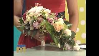 Новий день 2.09.2015  Весільні букети