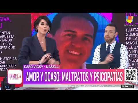 Vicky Xipolitakis es fabuladora y está enferma de narcisismo, dijo su exesposo Javier Naselli